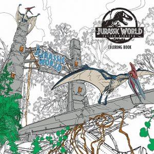 Libro Para Colorear De Jurassic World De 96 Páginas – Los Mejores Libros Para Colorear De Dinosaurios De Jurassic World Y Jurasssic Park