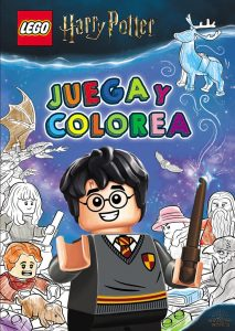 Libro para colorear de LEGO Harry Potter de 96 paginas Los mejores libros para colorear de Harry Potter