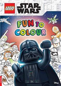 Libro para colorear de LEGO Star Wars de 48 paginas Los mejores libros para colorear de Star Wars