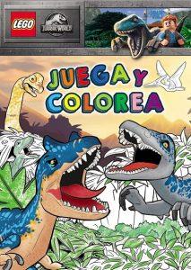 Libro Para Colorear De Lego De Jurassic World De 96 Páginas – Los Mejores Libros Para Colorear De Dinosaurios De Jurassic World Y Jurasssic Park