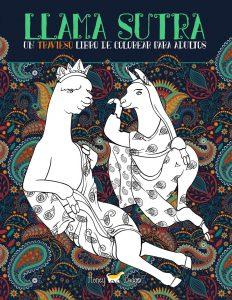 Libro para colorear de Llama Sutra de 31 paginas Los mejores libros para colorear de humor negro