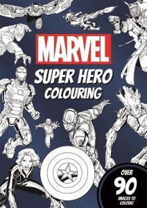 Libro Para Colorear De Marvel De 90 Páginas – Los Mejores Libros Para Colorear De Marvel