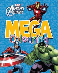 Libro para colorear de Marvel de 96 paginas Los mejores libros para colorear de Marvel
