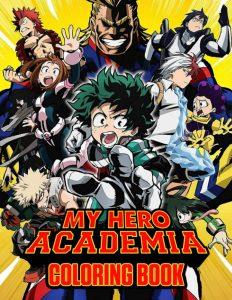 Libro para colorear de My Hero Academia de 106 paginas 2 Los mejores libros para colorear de My Hero Academia Boku no Hero