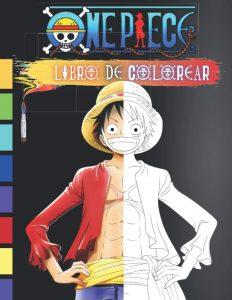 Libro para colorear de One Piece de 60 paginas Los mejores libros para colorear de One Piece