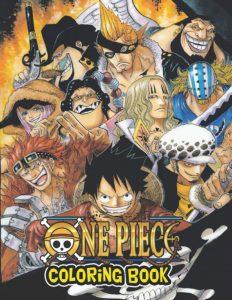 Libro para colorear de One Piece de 74 paginas Los mejores libros para colorear de One Piece