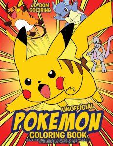 Libro para colorear de Pokemon de 102 paginas Los mejores libros para colorear de Pokemon