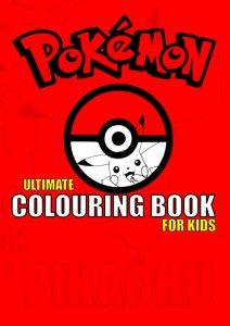 Libro para colorear de Pokemon de 49 paginas Los mejores libros para colorear de Pokemon
