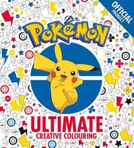 Libro para colorear de Pokemon de 64 paginas Los mejores libros para colorear de Pokemon