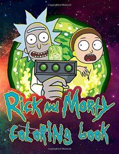 Libro para colorear de Rick y Morty de 100 paginas Los mejores libros para colorear de Rick y Morty