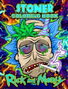 Libro para colorear de Rick y Morty de 60 paginas Los mejores libros para colorear de Rick y Morty