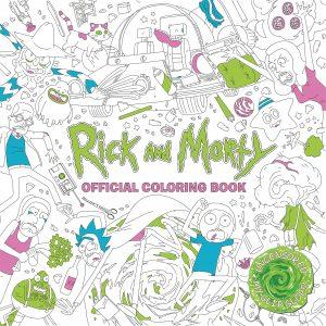 Libro para colorear de Rick y Morty de 80 paginas Los mejores libros para colorear de Rick y Morty