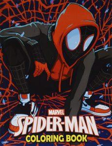 Libro para colorear de Spider man de 110 paginas 2 Los mejores libros para colorear de Spider man de Marvel