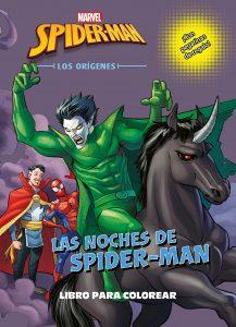 Libro para colorear de Spider man de 32 paginas Los mejores libros para colorear de Spider man de Marvel