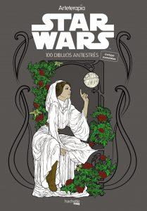 Libro para colorear de Star Wars de 100 paginas Los mejores libros para colorear de Star Wars