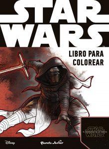 Libro para colorear de Star Wars de 120 paginas Los mejores libros para colorear de Star Wars