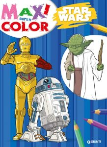 Libro para colorear de Star Wars de 160 paginas Los mejores libros para colorear de Star Wars