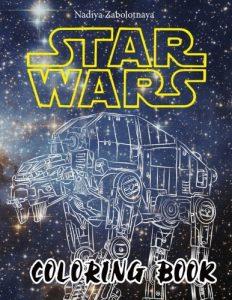 Libro para colorear de Star Wars de 62 paginas Los mejores libros para colorear de Star Wars