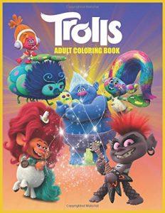 Libro para colorear de Trolls de 46 paginas Los mejores libros para colorear de Trolls de Dreamworks