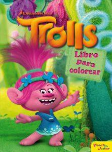 Libro para colorear de Trolls de 48 paginas Los mejores libros para colorear de Trolls de Dreamworks