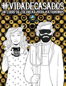 Libro para colorear de Vida de casados Un libro de colorear para matrimonios Los mejores libros para colorear de Vida de para adultos