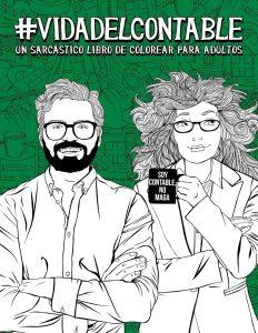 Libro para colorear de Vida del contable Un sarcastico libro de colorear para adultos Los mejores libros para colorear de Vida de para adultos