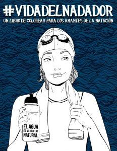 Libro para colorear de Vida del nadador un libro de colorear para las amantes de la natacion Los mejores libros para colorear de Vida de para adultos