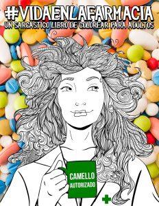 Libro para colorear de Vida en la farmacia Un sarcastico libro de colorear para adultos Los mejores libros para colorear de Vida de para adultos