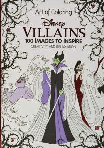 Libro Para Colorear De Villains Disney De Disney De 100 Páginas – Los Mejores Libros Para Colorear De Disney Pixar