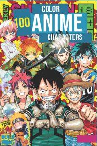 Libro para colorear de animes de 100 paginas 2 Los mejores libros para colorear de Pokemon