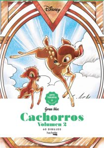 Libro para colorear de cachorros de Disney de 60 paginas Los mejores libros para colorear de Disney de cachorros