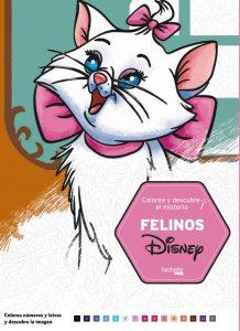 Libro para colorear de felinos de Disney de 100 paginas Los mejores libros para colorear de animales de Disney