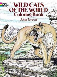 Libro Para Colorear De Felinos Salvajes De 48 Páginas – Los Mejores Libros Para Colorear De Leones Y Animales