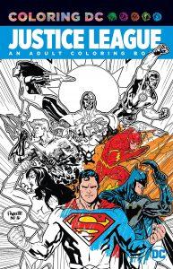 Libro para colorear de la Liga de la Justicia de 96 paginas Los mejores libros para colorear de personajes de DC La Liga de la Justicia