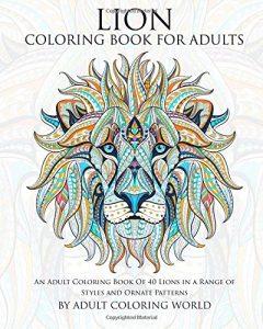 Libro Para Colorear De Leones De 40 Páginas – Los Mejores Libros Para Colorear De Leones Y Animales