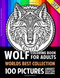 Libro Para Colorear De Lobos De 100 Páginas – Los Mejores Libros Para Colorear De Lobos Y Animales