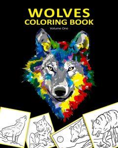 Libro Para Colorear De Lobos De 24 Páginas – Los Mejores Libros Para Colorear De Lobos Y Animales
