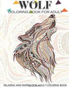 Libro Para Colorear De Lobos De 41 Páginas – Los Mejores Libros Para Colorear De Lobos Y Animales