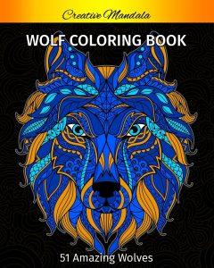 Libro Para Colorear De Lobos De 51 Páginas – Los Mejores Libros Para Colorear De Lobos Y Animales