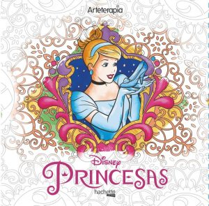 Libro para colorear de princesas de Disney de 100 paginas 2 Los mejores libros para colorear de princesas de Disney