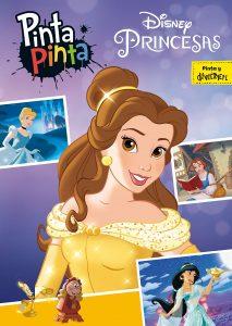 Libro para colorear de princesas de Disney de 224 paginas Los mejores libros para colorear de princesas de Disney