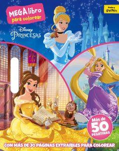 Libro para colorear de princesas de Disney de 30 paginas 2 Los mejores libros para colorear de princesas de Disney