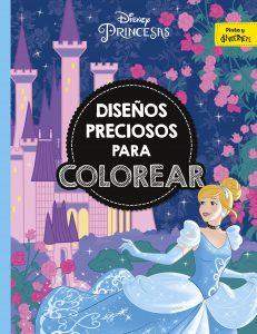 Libro para colorear de princesas de Disney de 40 paginas Los mejores libros para colorear de princesas de Disney