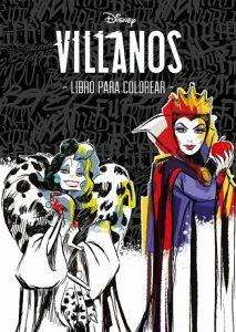 Libro Para Colorear De Villanos Disney De Disney De 60 Páginas – Los Mejores Libros Para Colorear De Disney Pixar