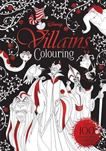 Libro para colorear de villanos de Disney de 100 paginas Los mejores libros para colorear de villanos de Disney