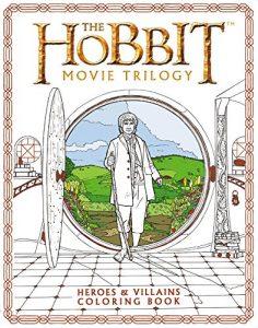 Libro para colorear del Hobbit de 80 paginas Los mejores libros para colorear del senor de los anillos