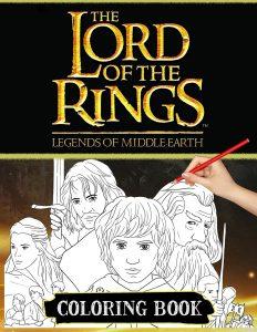 Libro para colorear del Senor de los Anillos de 62 paginas Los mejores libros para colorear de The Lord of the Rings