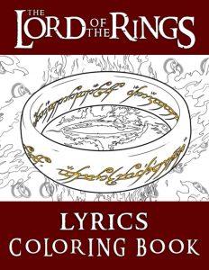 Libro para colorear del Senor de los Anillos de 66 paginas Los mejores libros para colorear de The Lord of the Rings