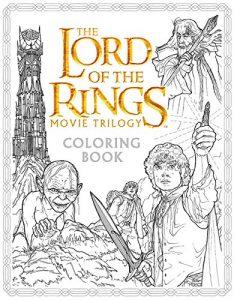 Libro para colorear del Senor de los Anillos de 80 paginas Los mejores libros para colorear del senor de los anillos