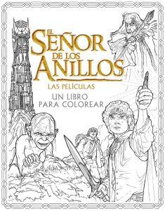 Libro para colorear del Senor de los Anillos de 80 paginas espanol Los mejores libros para colorear del senor de los anillos